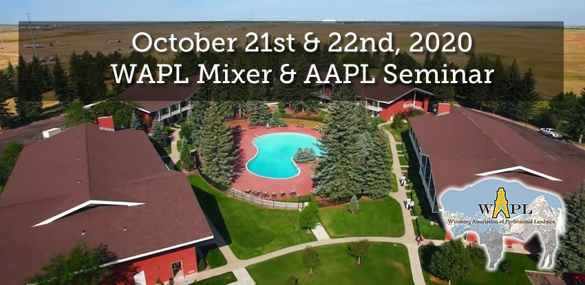 October 2020 WAPL Mixer & AAPL Seminar