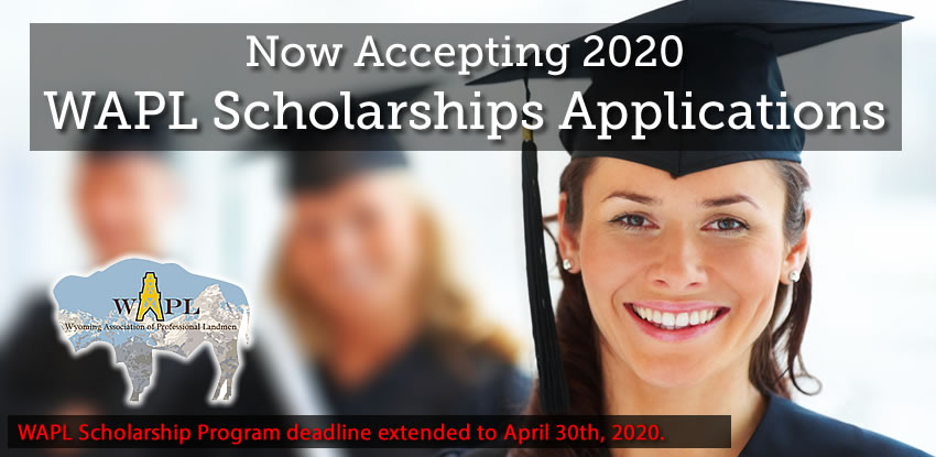 Now Accepting 2020 WAPL Scholarships